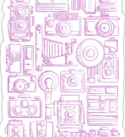 Paparazzi Purple Sticker