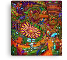 Carnival of the Abyss Canvas Print