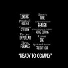 """ready to comply"" by Summer Iscoming"