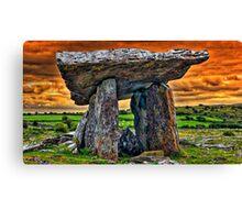 Ireland - Dolmen Canvas Print