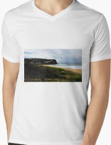Copacabana Beach Central Coast NSW Australia Mens V-Neck T-Shirt