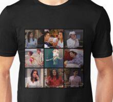 Monica Geller Quotes Collage #1 Unisex T-Shirt