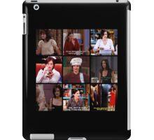 Monica Geller Quotes Collage #3 iPad Case/Skin