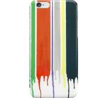 Dripping Stripes iPhone Case/Skin