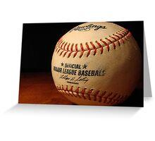 MLB Ball Greeting Card