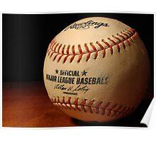 MLB Ball Poster