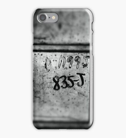Numbers remain iPhone Case/Skin