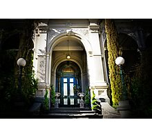 Mansion Entrance  Photographic Print