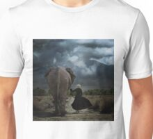 In the Shadows of Giants Unisex T-Shirt