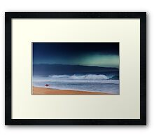 Pipeline Surfer 13 Framed Print