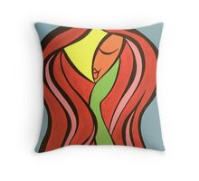 Wise Lady Throw Pillow