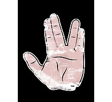 spock hand Photographic Print