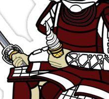 Small Samurai Sticker