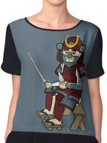 Small Samurai Chiffon Top