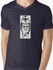 Dino Jeb Mens V-Neck T-Shirt