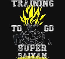 TRAINING TO GO SUPER SAIYAN -WHITE EDITION   Unisex T-Shirt