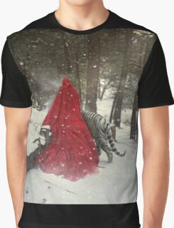 Walking On Tranquil Paths Graphic T-Shirt