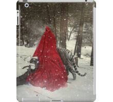Walking On Tranquil Paths iPad Case/Skin