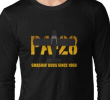 PIPER PA-28 - Smashin' bugs since 1960 Long Sleeve T-Shirt