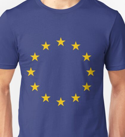 The Flag of Europe Unisex T-Shirt