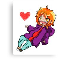 Cute Chibi/Anime Character: Toru Canvas Print