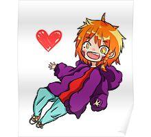 Cute Chibi/Anime Character: Toru Poster