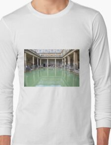 Roman Bath reflection Long Sleeve T-Shirt