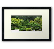 one hand clapping Framed Print