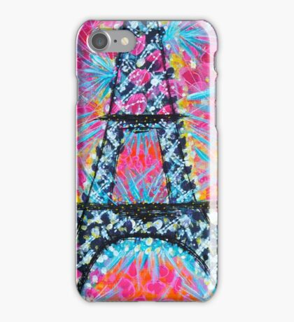 Just another paris painting iPhone Case/Skin