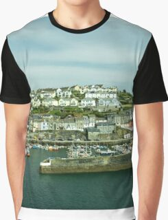 Mevagissy Harbour  Graphic T-Shirt