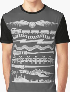 Wizard Whimsy Graphic T-Shirt