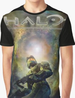 Halo Guardians Master Chief Graphic T-Shirt