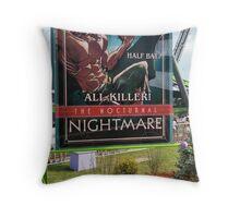 Batman Joker Man Bat Poster Throw Pillow
