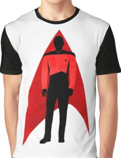 Star Trek - Silhouette Picard Graphic T-Shirt