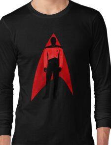 Star Trek - Silhouette Picard Long Sleeve T-Shirt