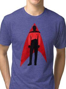 Star Trek - Silhouette Picard Tri-blend T-Shirt