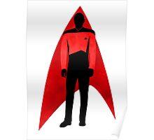 Star Trek - Silhouette Picard Poster