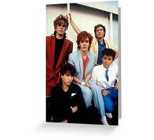 Vintage Duran Duran Greeting Card