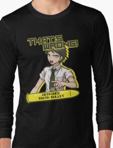Hajime Hinata - That's Wrong Long Sleeve T-Shirt