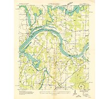 USGS TOPO Map Alabama AL Triana 305232 1936 24000 Photographic Print