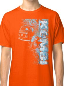 Volkswagen Kombi Tee shirt - Grunge Blue Classic T-Shirt