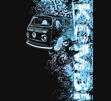 Volkswagen Kombi Tee shirt - Grunge Blue Unisex T-Shirt
