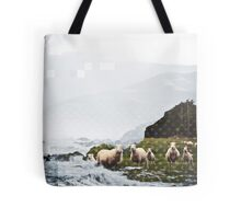 DRINKING WATER Tote Bag