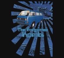 Volkswagen Kombi Tee shirt- T3 the Forgotten Kombi by KombiNation