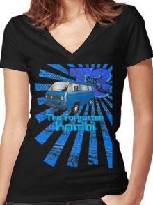 Volkswagen Kombi Tee shirt- T3 the Forgotten Kombi Women's Fitted V-Neck T-Shirt