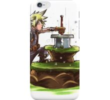 The Buster Sword in the Stone iPhone Case/Skin