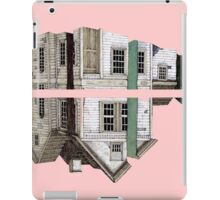 house in a pink iPad Case/Skin