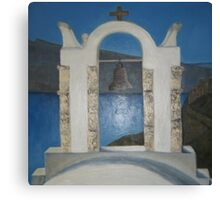 Grecian Bell Tower Canvas Print