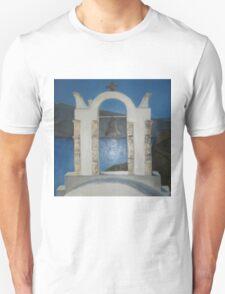 Grecian Bell Tower Unisex T-Shirt