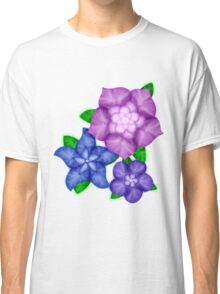 Purple blossoms Classic T-Shirt